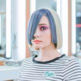 ユニークなヘアスタイルの女の子